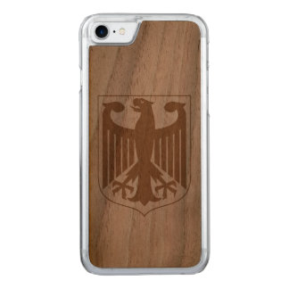 German Eagle Carved iPhone 7 Case