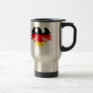 German Eagle Crest Stainless Steel Travel Mug