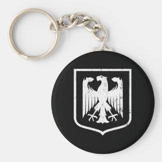 German Eagle - Deutschland coat of arms Basic Round Button Keychain