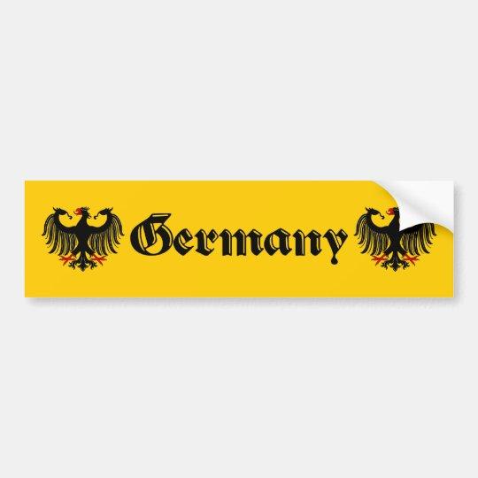 German Eagle Germany Bumper Sticker