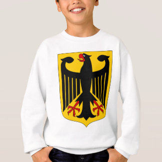 German Eagle on Yellow Shield Sweatshirt