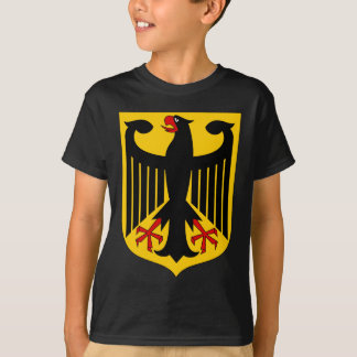 German Eagle on Yellow Shield T-Shirt