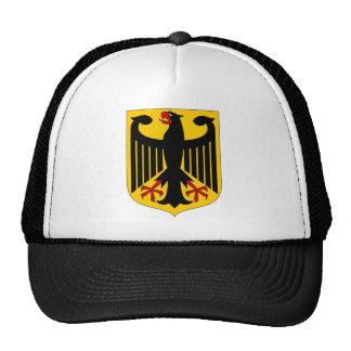 German Eagle on Yellow Shield Trucker Hat