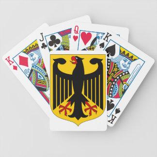 German Eagle Poker Deck