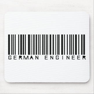 german engineer icon mouse pad