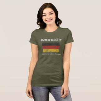 German Euro Exit - GEREXIT Shirt