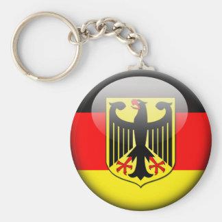 German Flag 2.0 Basic Round Button Keychain