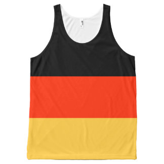 German Flag All-Over Print Tank Top