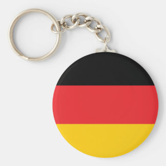 German flag basic round button keychain