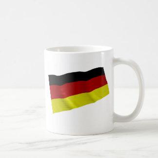 german flag basic white mug