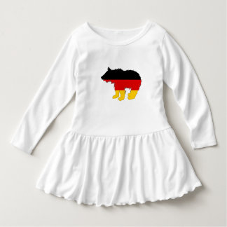 German Flag - Bear Cub Dress