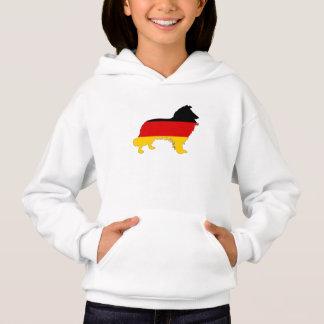 German Flag - Border Collie