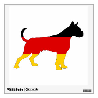 German Flag - Boxer Wall Decal