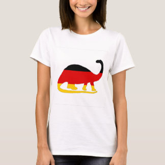 German Flag - Brontosaurus T-Shirt