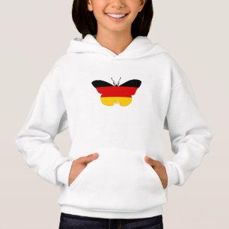 German Flag - Butterfly