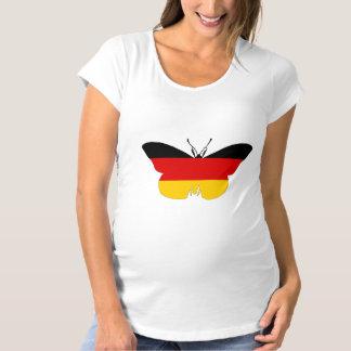 German Flag - Butterfly Maternity T-Shirt