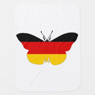 German Flag - Butterfly Swaddle Blanket
