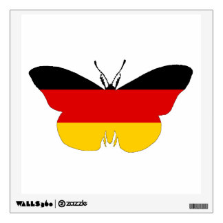 German Flag - Butterfly Wall Decal