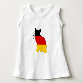 German Flag - Cat Dress