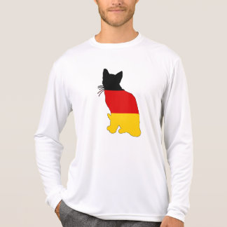 German Flag - Cat T-Shirt