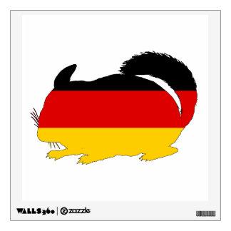 German Flag - Chinchilla Wall Decal