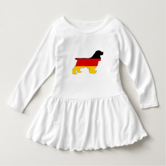 German Flag - Cocker Spaniel Dress