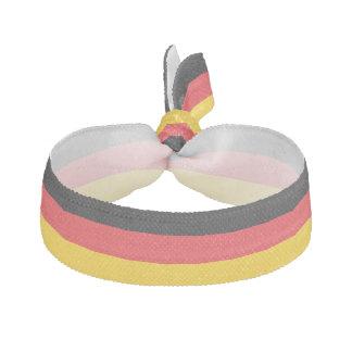 German Flag Colors Hair Tie