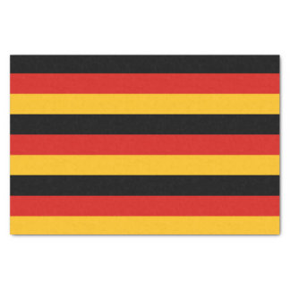 GERMAN FLAG COLORS + your ideas Tissue Paper