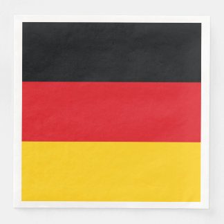 German Flag Disposable Napkins