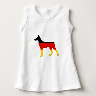 German Flag - Dobermann Pinscher Dress