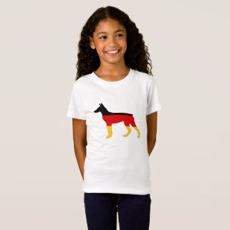 German Flag - Dobermann Pinscher T-Shirt