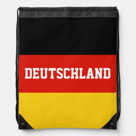 German flag drawstring bag | Germany backpack