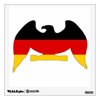 German Flag Eagle Wall Sticker