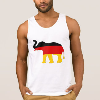 German Flag - Elephant