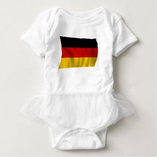 German Flag Flag German Symbol Europe European Baby Bodysuit