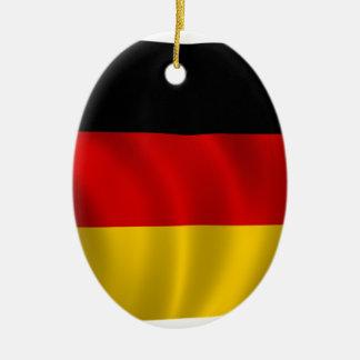German Flag Flag German Symbol Europe European Ceramic Ornament