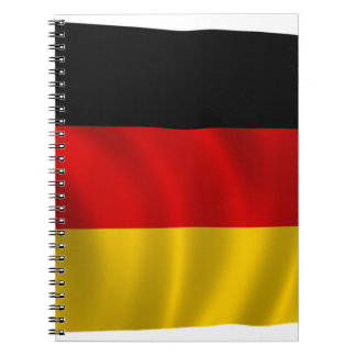 German Flag Flag German Symbol Europe European Notebook