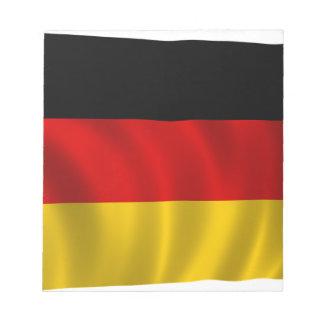 German Flag Flag German Symbol Europe European Notepad