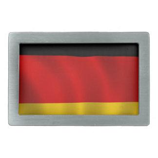 German Flag Flag German Symbol Europe European Rectangular Belt Buckle