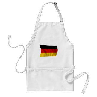 German Flag Flag German Symbol Europe European Standard Apron