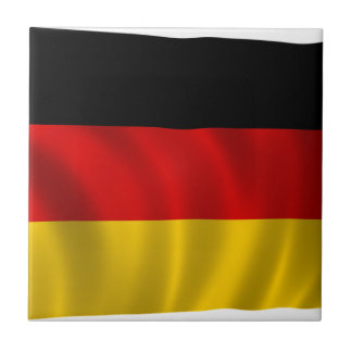 German Flag Flag German Symbol Europe European Tile