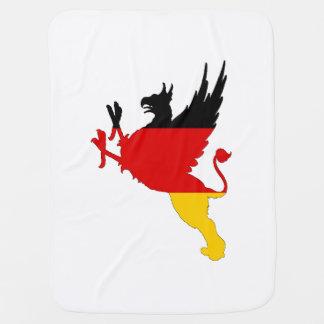 German Flag - Griffin Baby Blanket