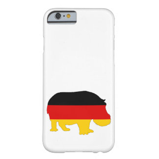 German Flag - Hippo Barely There iPhone 6 Case