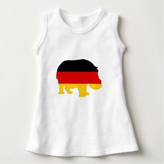 German Flag - Hippo Dress