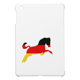 German Flag - Horse iPad Mini Cover