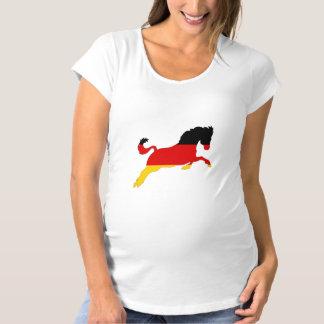 German Flag - Horse Maternity T-Shirt