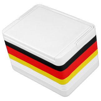 German Flag igloo can cooler