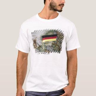 German flag in map T-Shirt