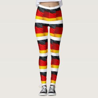 GERMAN FLAG LEGGINGS