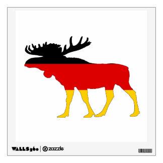 German Flag - Moose Wall Decal